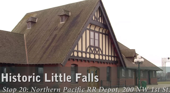 20. Northern Pacific Railroad Depot Photo