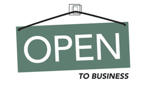 Open to Business Image