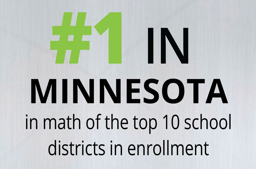 #1 in minnesota in math