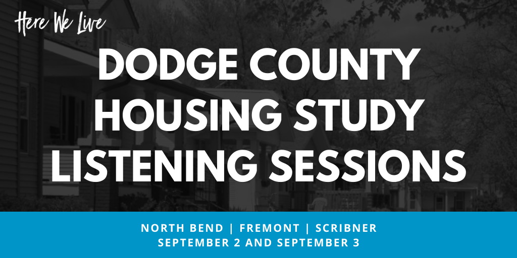 Hanna:Keelan and Associates to Host Housing Study Listening Sessions in Dodge County & Cedar Bluffs Main Photo