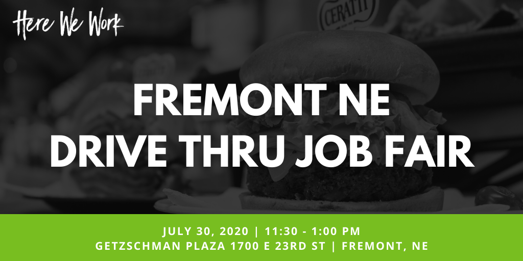 Find Great Careers and Benefits at Fremont's 2nd Drive Thru Job Fair on July 30th Photo - Click Here to See