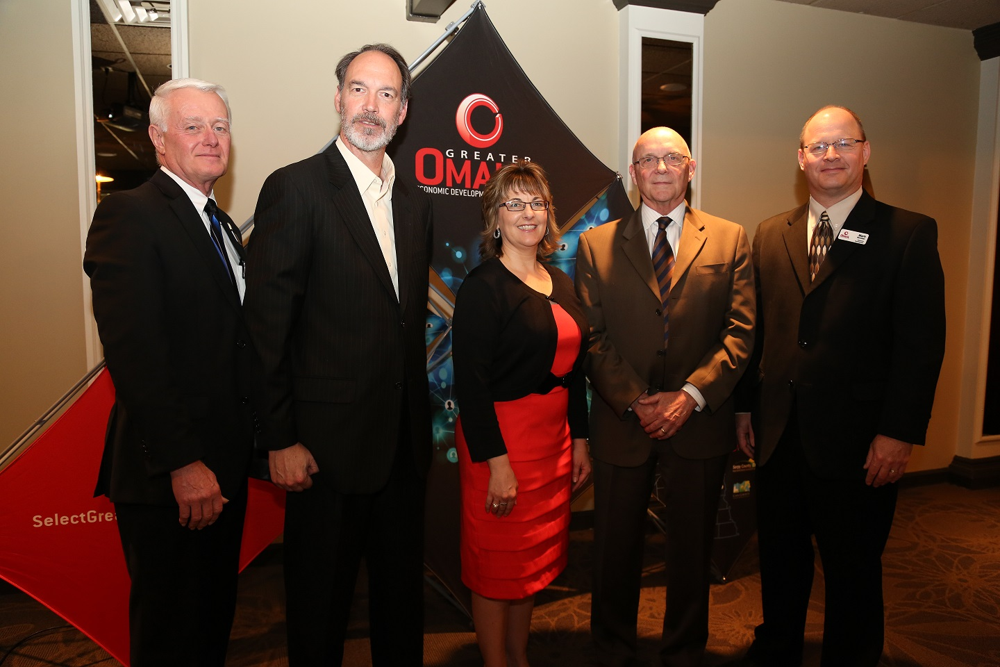 Economic Development Staff - Rod Moseman, Toby Churchill, Barb Pierce, Doug Heim, Mark Norman
