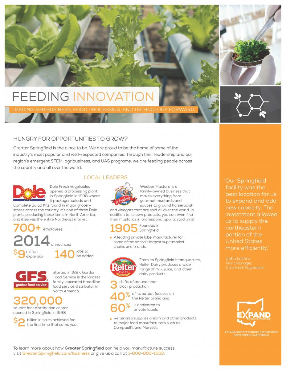 Feeding Innovation
