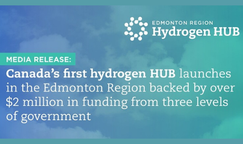 Edmonton Region Hydrogen HUB - Launched! Main Photo