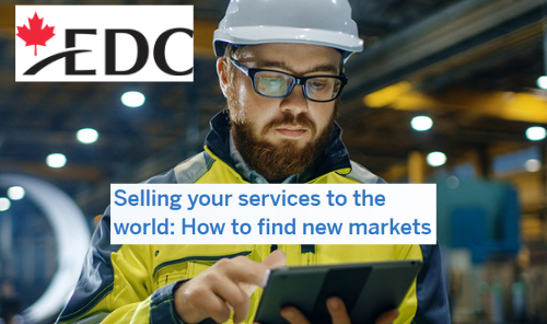 Selling your Services to the World: How to Find New Markets Main Photo