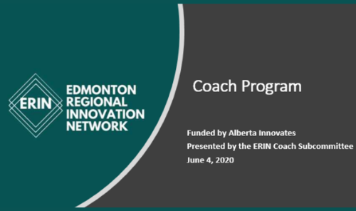 Edmonton Regional Innovation Network (ERIN) - Coaching Program Main Photo