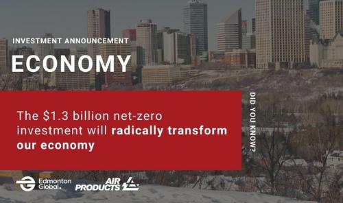 Multi-Billion Dollar Net-Zero Hydrogen Energy Complex in Edmonton Main Photo