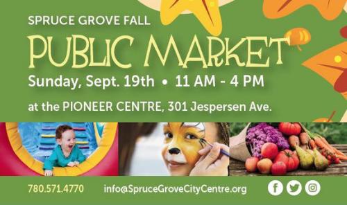 Fall Public Market Event - September 19, 2021 Main Photo