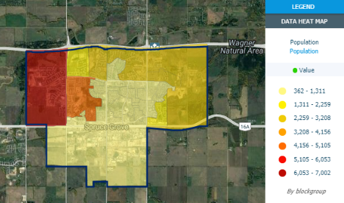 Spruce Grove Heat Map Tools Available Here! Main Photo
