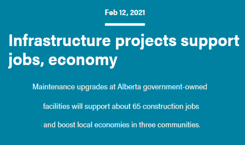 Infrastructure Projects Support Jobs, Economy Main Photo