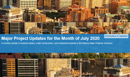 Major Project Updates for the Month of July 2020 Main Photo