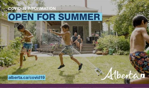 Alberta's Open for Summer Plan Main Photo