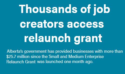 Thousands of job creators access relaunch grant Main Photo