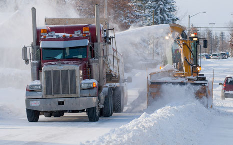 Snow Clearing Image