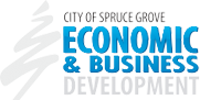 City of Spruce Grove Economic and Business Development Logo