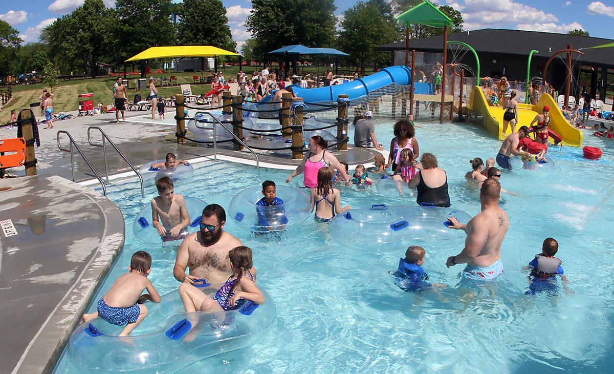 Huether Family Aquatics Center Opens With A Big Splash Main Photo