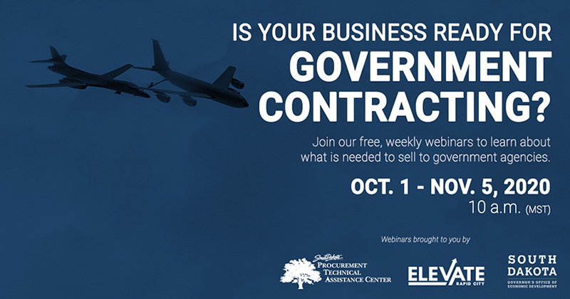 Join Free Weekly Webinars to learn about Government Contracting Main Photo