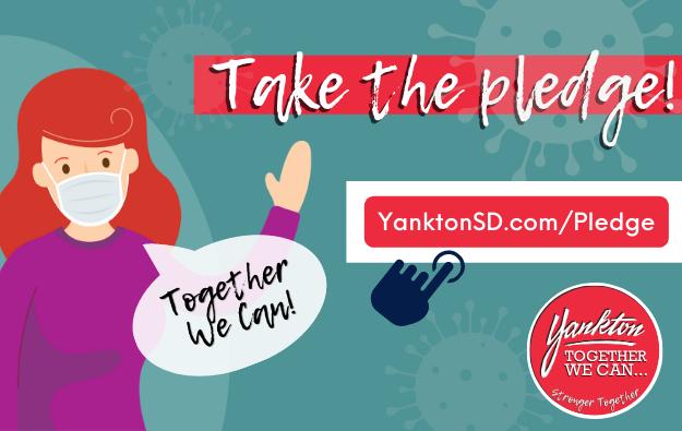 Take the Pledge to help Yankton slow the spread of Covid-19! Main Photo