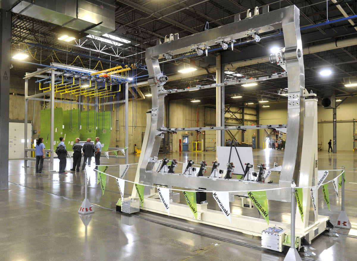 Kawasaki Hosted Grand Opening of New Aerospace Division in Lincoln Photo