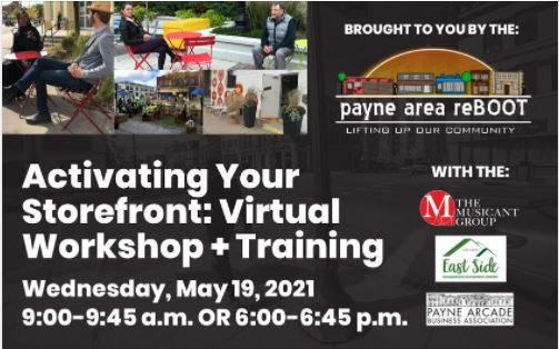 Activating your Storefront: Virtual Workshop + Training Photo - Click Here to See