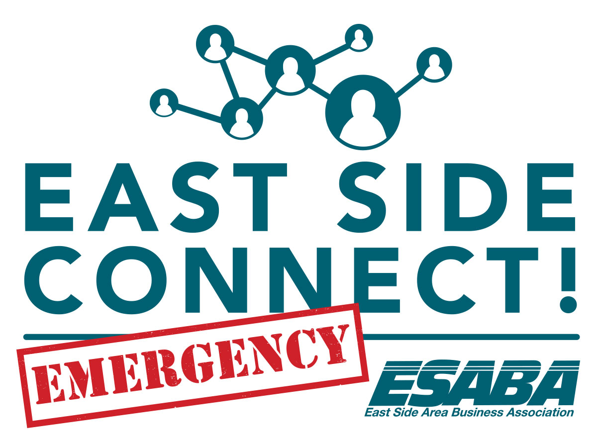 Event Promo Photo For East Side Connect! Emergency Restaurant, Bar, Entertainment Support