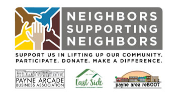 Neighbors Supporting Neighbors: Payne Arcade Fundraising Event Photo - Click Here to See