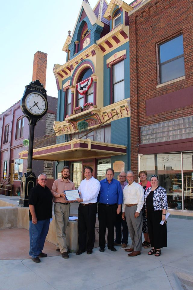 Downtown Beatrice is now listed on the National Register of Historic Places! Main Photo