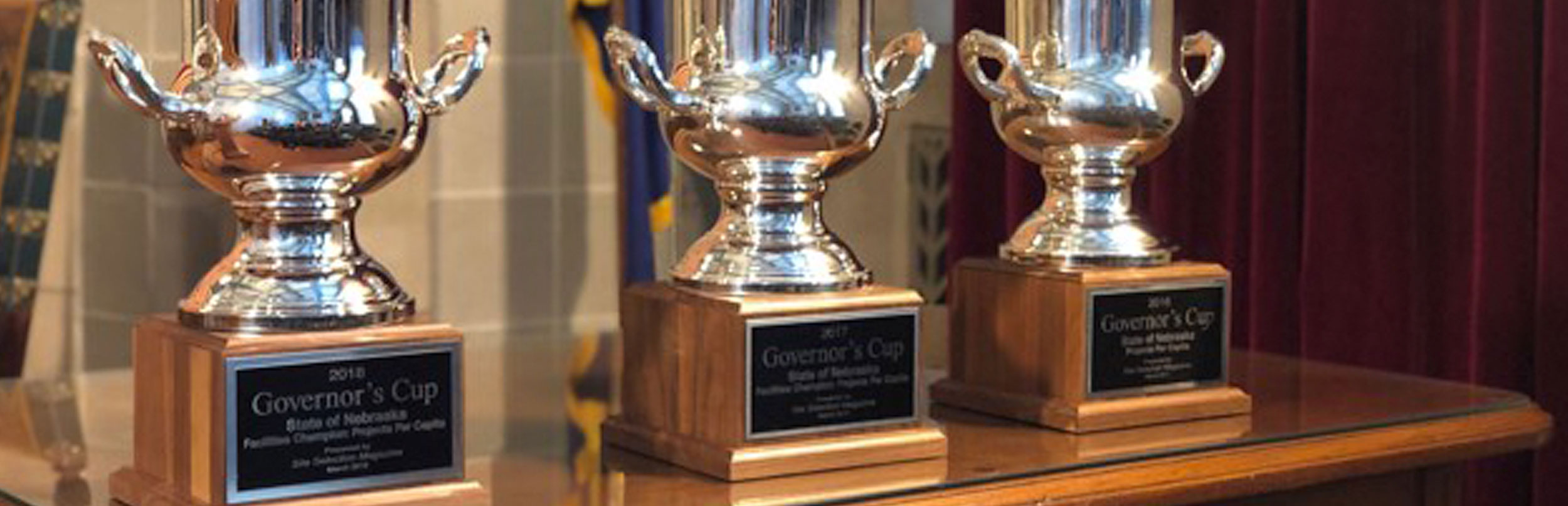Nebraska wins third consecutive Governor's Cup