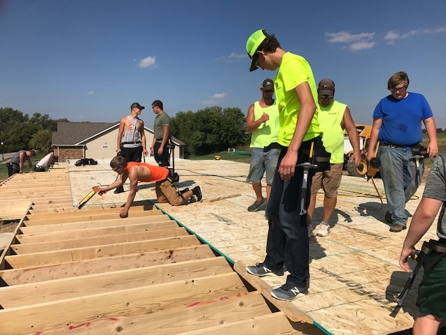 Beatrice High Construction Class is Building a House Main Photo