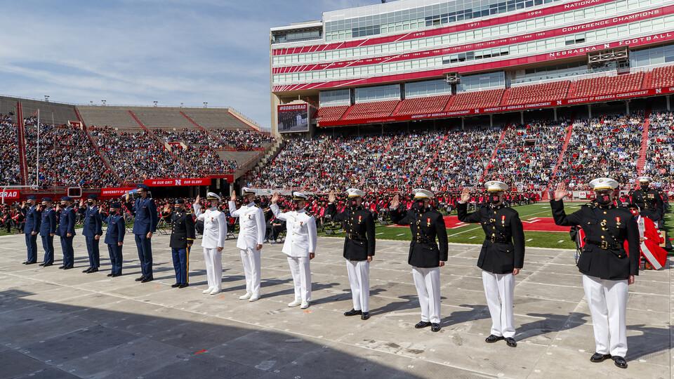 Nebraska U again among nation's Best for Vets Main Photo