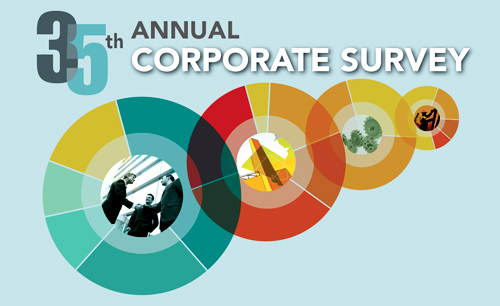 35th Annual Corporate Survey: Effects of Global Pandemic Reflected in Executives' Site and Facility Plans Photo - Click Here to See