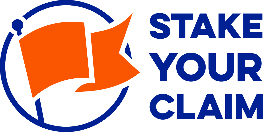 gage county, ne stake your claim logo