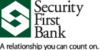 Security First Bank Slide Image